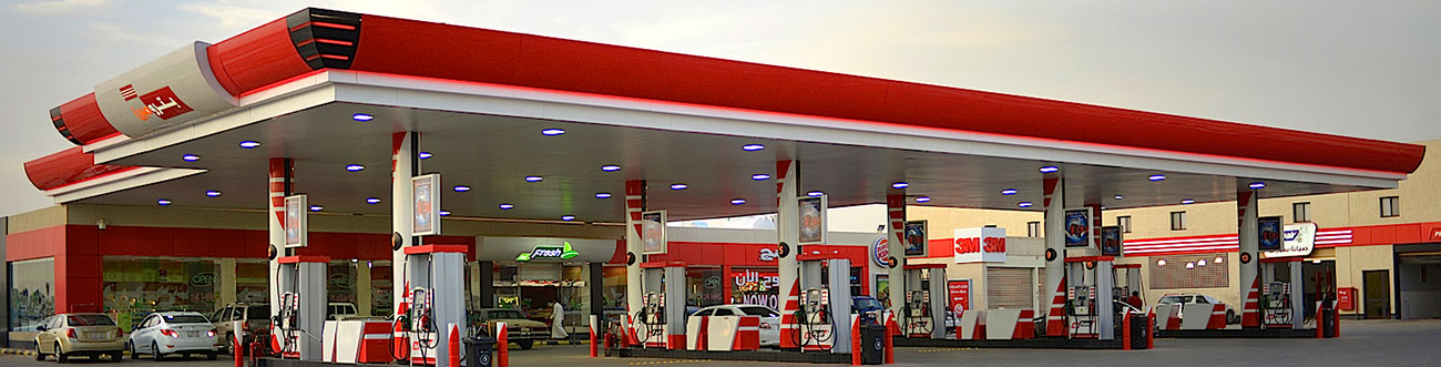 gas stations petromin